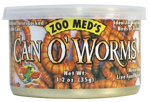 Zoo Med Can'O Worms - брашнени червеи 35 гр.