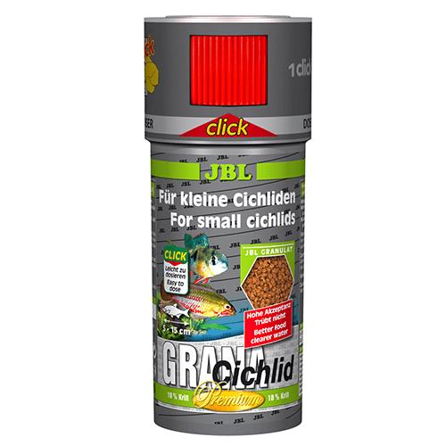 JBL Grana-Cichlid CLICK 100мл; 250мл- Храна за месоядни цихлиди, клас