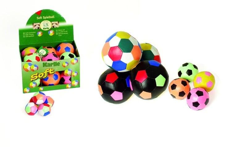 Малка футболна топка 5см. различни цветове