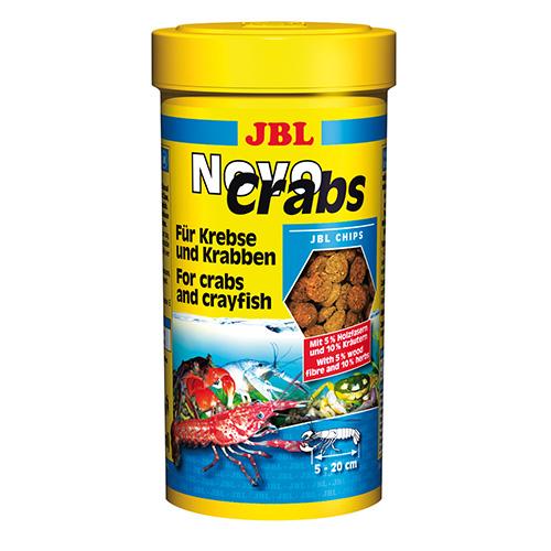 JBL NOVOCRABS 100ML - ОСНОВНА ХРАНА ЗА РАЦИ (CRABS) И РAКООБРАЗНИ -ГРАНУЛИ