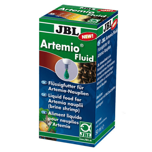 JBL Artemio Fluid 50ml - Течна храна за артемия науплии (морски скариди)