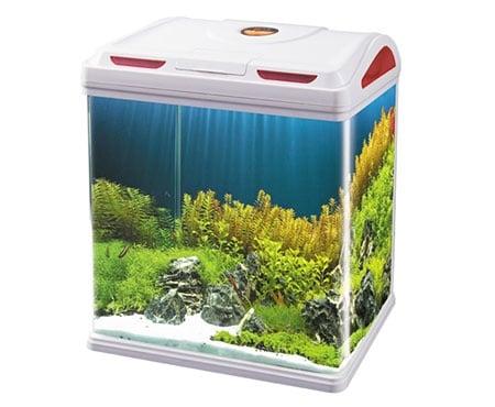 Sobo AA 390F - аквариум с капак, енерго спестяващо осветление и вградена филтърна с-ма