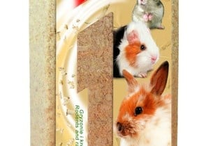 Дървена натурална настилка за гризачи и зайци