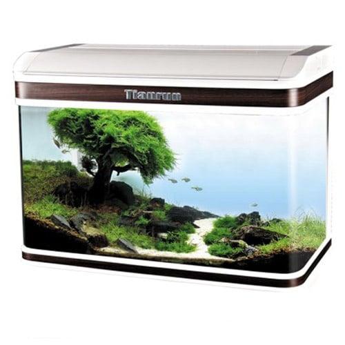 Sobo AA 800F - аквариум с капак, енерго спестяващо осветление и дънен филтър