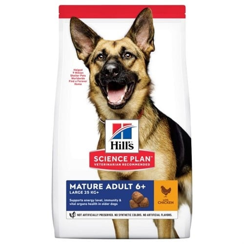 Hills Science Plan Canine Mature Adult 5+ Active Longevity Large Breed with Chicken - Кучета от едри породи на възраст над 5 години - 14.00кг