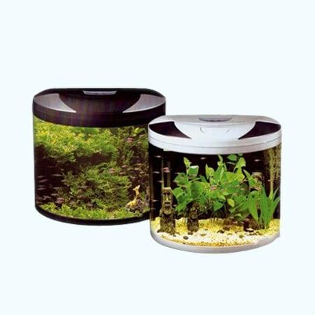 Sobo HA 600 - аквариум с капак, осветление и дънен филтър