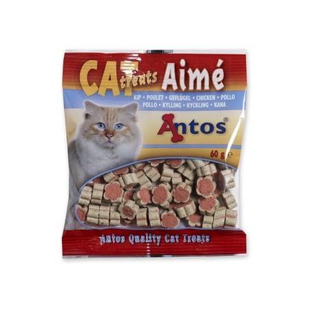 Снакс за котки CAT TREATS AIMЕ пилешко 60гр.