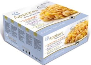 Applaws Cat Chicken Selection MP - Месни хапки в сос с различни вкусове - 8 х 60гр