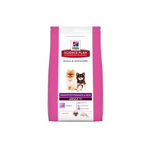 Hill`s Science Plan™ Canine Small & Miniature Sensitive Stomach & Skin 1.50кг - За кучета от миниатюрни породи с чувствителен стомах и кожа