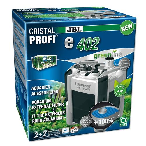 JBL CristalProfi e402 greenline - Енергоспeстяващ външен филтър за аквариуми от 40 до 120 л