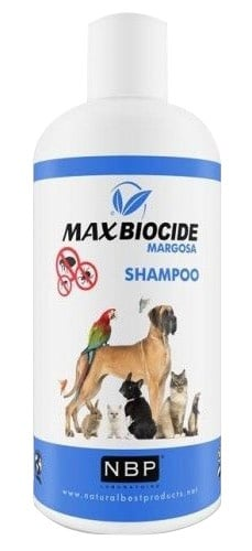 Натурален противопаразитен шампоан за кучета и котки с Маргоза, 200 мл.