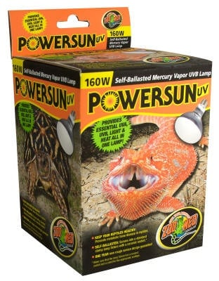 Лампа за отопление, UV и осветление - PowerSun от ZooMed, САЩ
