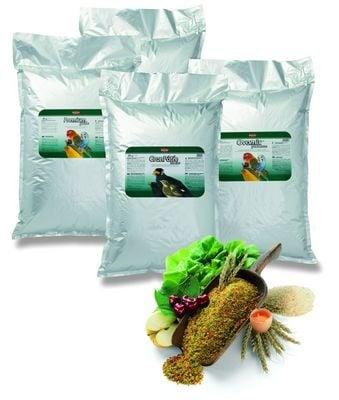 Хранителна добавка за зърноядни птици (червена)