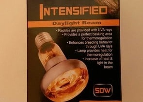 REPTILEPRO DaylightBeam Intensfied - Осветление нагряващо - 50W; 75W; 100W