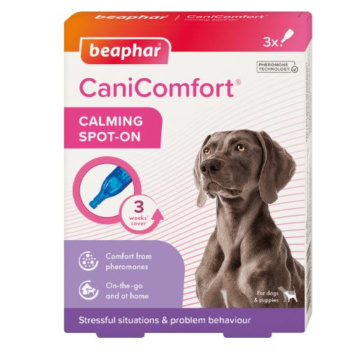 Успокояващи капки с феромони за кучета Beaphar CaniComfort Calming Spot On
