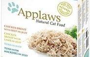 Applaws pauch jelly Multipack - Хапки в желе паучове с пилешко, говеждо, агеншко и риба тон