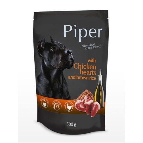 Piper - Премиум консервирана храна за кучета - пауч -150гр; 500гр - различни вкусове