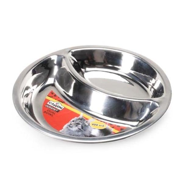 Двойна купа метална за котки