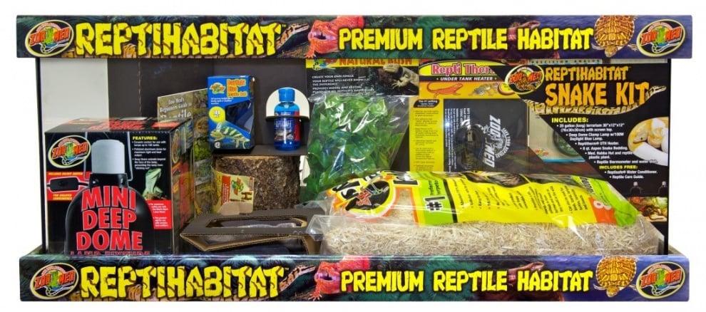 Комплект за отглеждане на змии ReptiHabitat™ от ZooMed, САЩ