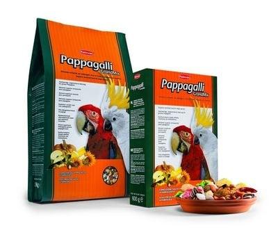Пълноценна храна за голями папагали с плодове Padovan - 0.600кг; 2.00 кг