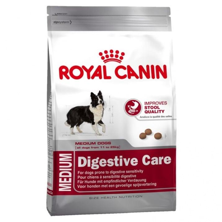 Royal Canin Medium Digestive Care 3.00kg - Основна храна за кучета от средно големи породи с чувствително храносмилане