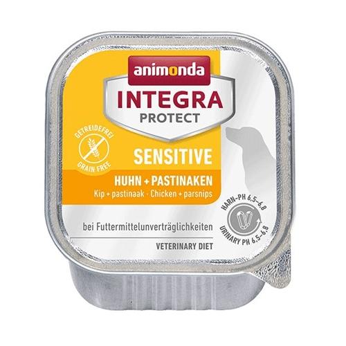 Integra Protect Sensitive БЕЗ ЗЪРНО -пастет  за чувствителни и алергични кучета, 150 гр