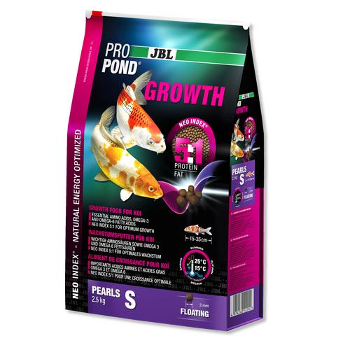 JBL ProPond Growth S - Храна за растежа на  малки езерни рибки - 5.5кг