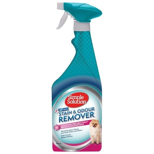 Спрей за кучета Simple Solution S&O Remover Spring Breeze против петна и миризми, пролетен бриз 750мл