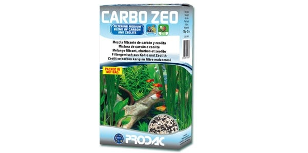PRODAC CARBO ZEO - Активен въглен + зеолит - 700гр.