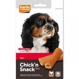 Лакомство за куче Chick'n Snack - пури с пиле и ориз от Karlie, Германия
