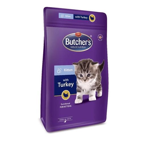 Butcher's Pro Series Kitten Пълноценна гранулирана храна за малки котенца от 4 до 12 месеца с патешко месо 800гр