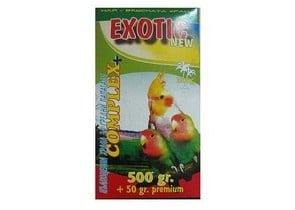 Пълноценна храна за средно големи папагали - 550гр.