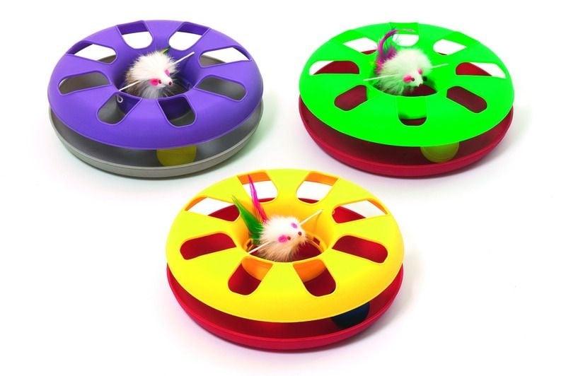 Играчка кръг с топка и мишка от Karlie, Германия