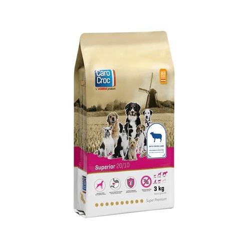 CAROCROC SUPERIOR - Супер премиум храна за кучета със стомашно - чревен дискомфорт и алергичи състояния - 3.00кг; 15.00кг