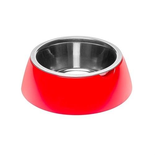 JOLIE ROSSA CIOTOLA  - Стоманена купа за вода или храна за кучета и котки - различни цветове и размери