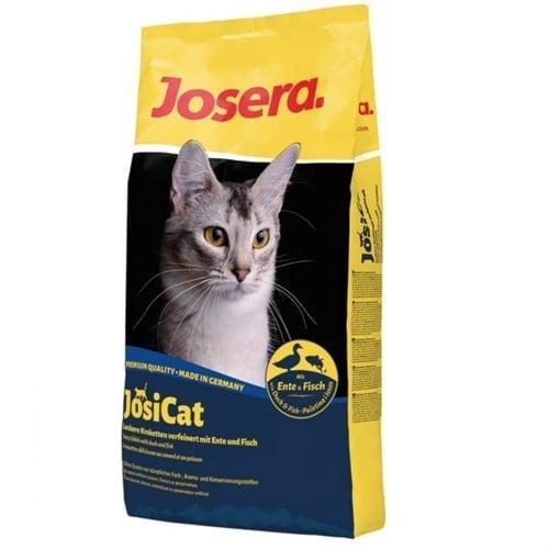 Josera JosiCat Duck & Fish - Суха храна с патешко месо и риба за всекидневно хранене на котки над 1 година