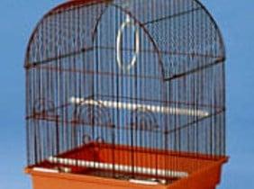 Голяма клетка за вълнисти папагали -объл покрив.