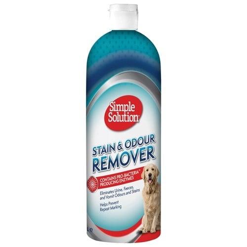 Спрей за кучета Simple Solution Stain&Odour Remover против петна и миризми - две разфасовки