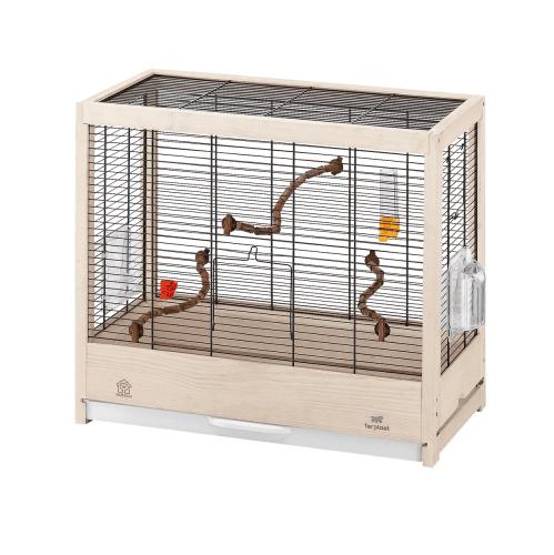 Клетка за птици  /57х30х50см/ - оборудвана