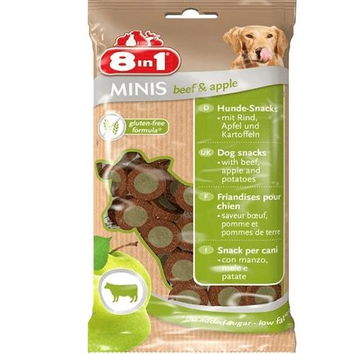 Лакомство за куче 8in1 Minis 100гр - различни вкусове