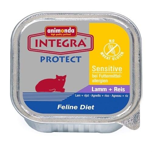 Пастет за алергични котки с чувствителен стомах Integra Sensetive от Animonda Германия 100гр - два вкуса