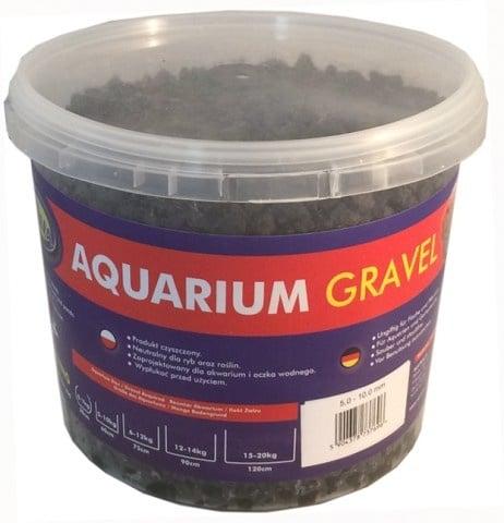 Aqua Nova NCG-5 Базалт 5-10мм натурален пясък - разфасвка от 5кг