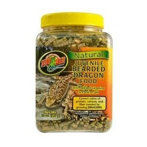 Храна за подрастващи брадати агами - Bearded Dragon от Zoo Med, САЩ 283 гр.