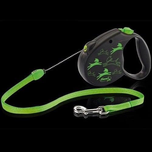 Flexi Color Medium /автоматичен повод за кучета до 20кг въже 5м/