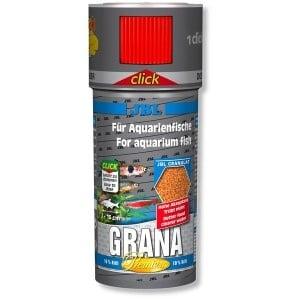 JBL Grana Click / премиум храна за малки рибки -гранули с дозатор/-100мл