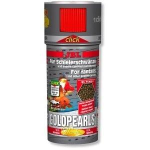 JBL Goldpearls mini CLICK /храна за златни рибки с дозатор/-100мл