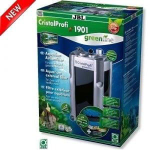 JBL CristalProfi e1901 greenline /енергоспестяващ външен филтър с колелца за аквариуми от 300 до 800л/-20x23,5x56,4см