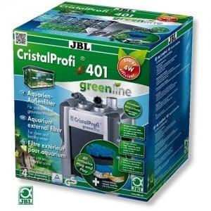 JBL CristalProfi e401 greenline /енергоспестяващ външен филтър за аквариуми от 40 до 120л/-18x21x28,4см