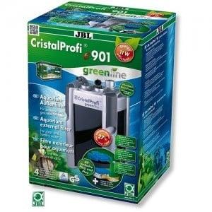 JBL CristalProfi e901 greenline /енергоспестяващ външен филтър за аквариуми от 90 до 300л/-18x21x40,5см