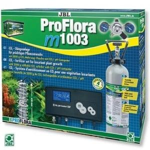 JBL ProFlora m1003 /професионална CO₂ система с бутилка (2кг) за многократна употреба и pH контролер/